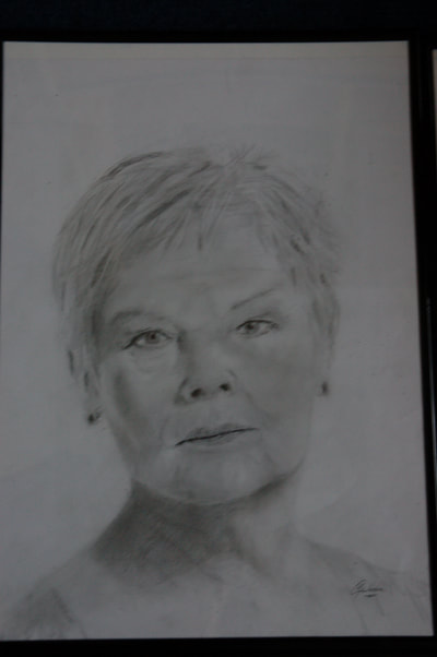 Dame Judy Dench sketch
